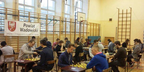 Finał powiatowy w szachach drużynowych