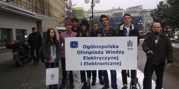 XLI Ogólnopolska Olimpiada Wiedzy Elektrycznej i Elektronicznej