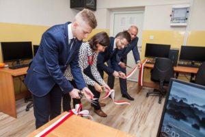 Uroczyste otwarcie CKZiU nr 2 w Wadowicach.