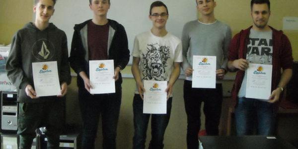 5 dyplomów w międzynarodowym konkursie informatycznym!