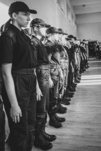 przysięga uczniów klasy policyjnej