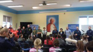 wystąpienie organizatorów konkursu