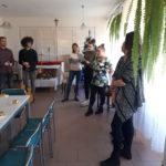 spotkanie kolędowe wolontariuszy z pensjonariuszami DPS