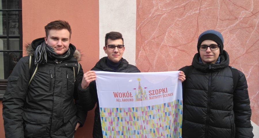 trzej uczniowie CKZiU nr 2 biorą udział w wystawie szopekł