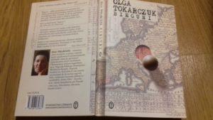 "okładka książki ""Bieguni"" Olgi Tokarczuk"