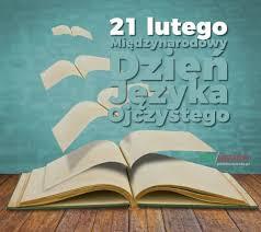 obrazek reklamujący Dzień Języka Ojczystego