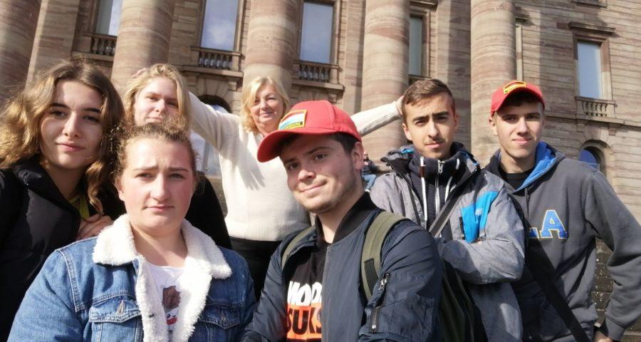 uczniowie na praktykach w Niemczech